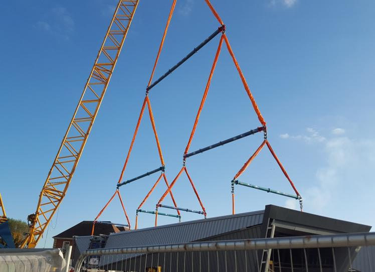 Multiple Spreader Beams – Multi Point Lift