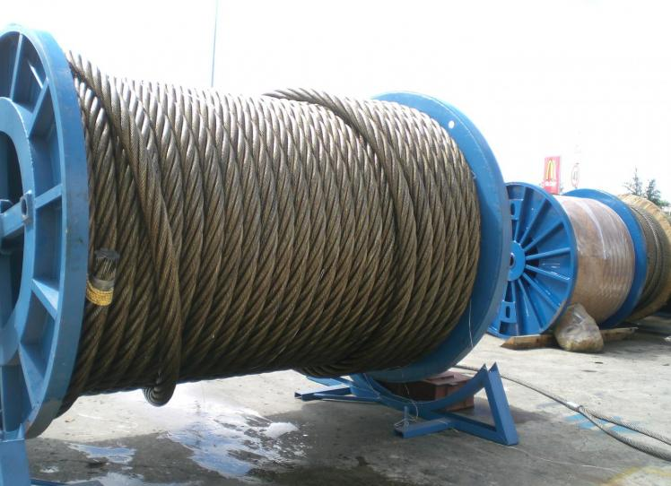 6 Strands steel wire rope