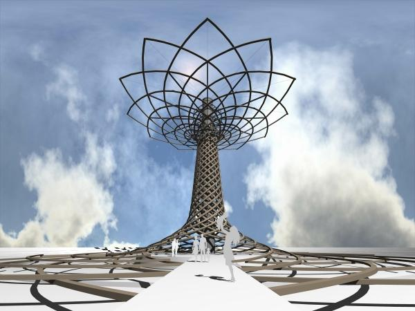 The Tree of Life, the Expo 2015 symbol
