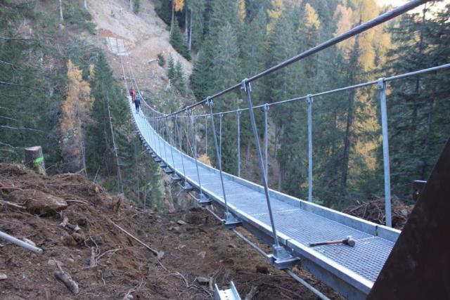 SIRTEF steel wire ropes for Rabbi Tibetan bridge in Trentino - SIRTEF