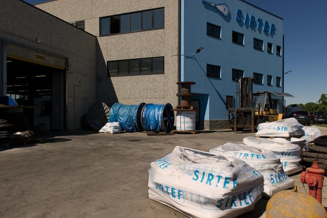 SIRTEF headquarter - Steel wire rope and wire rope slings