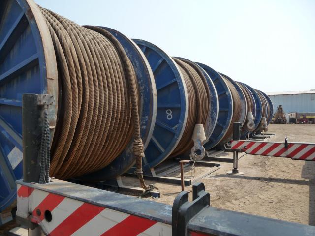 Non rotating steel wire rope diam.mm. 96 for pipe line