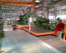 Closing Machine for production of Steel Wire Ropes