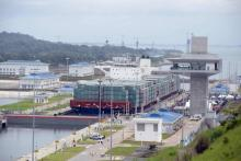 The Panama Canal opening - Cosco Shipping