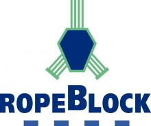 RopeBlock for crane blocks and swivels